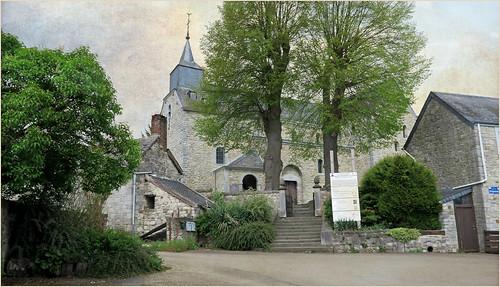 Église Saint-Pierre de Xhignesse, Hamoir, Province de Liège, Belgium