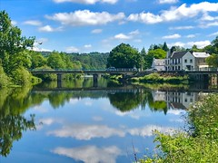 Le Blavet. Bretagne