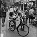 The news paper man - Chinatown - Singapore