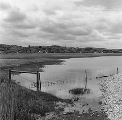 Salthouse Marsh : Rollei Hy6  80mm 2.8 Schneider