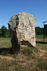Le « Menhir des Taillis » près de la Gacilly - Morbihan - Septembre 2018 - 04