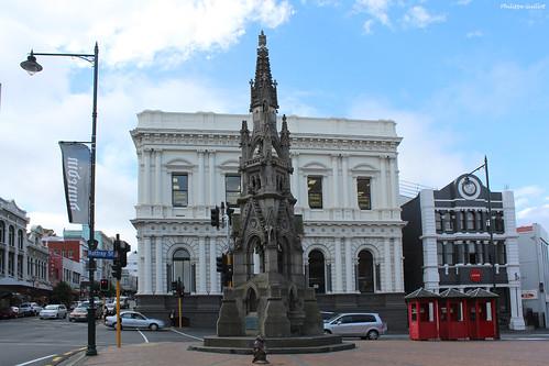 Dunedin : monument en l'honneur de l'Armée du Salut