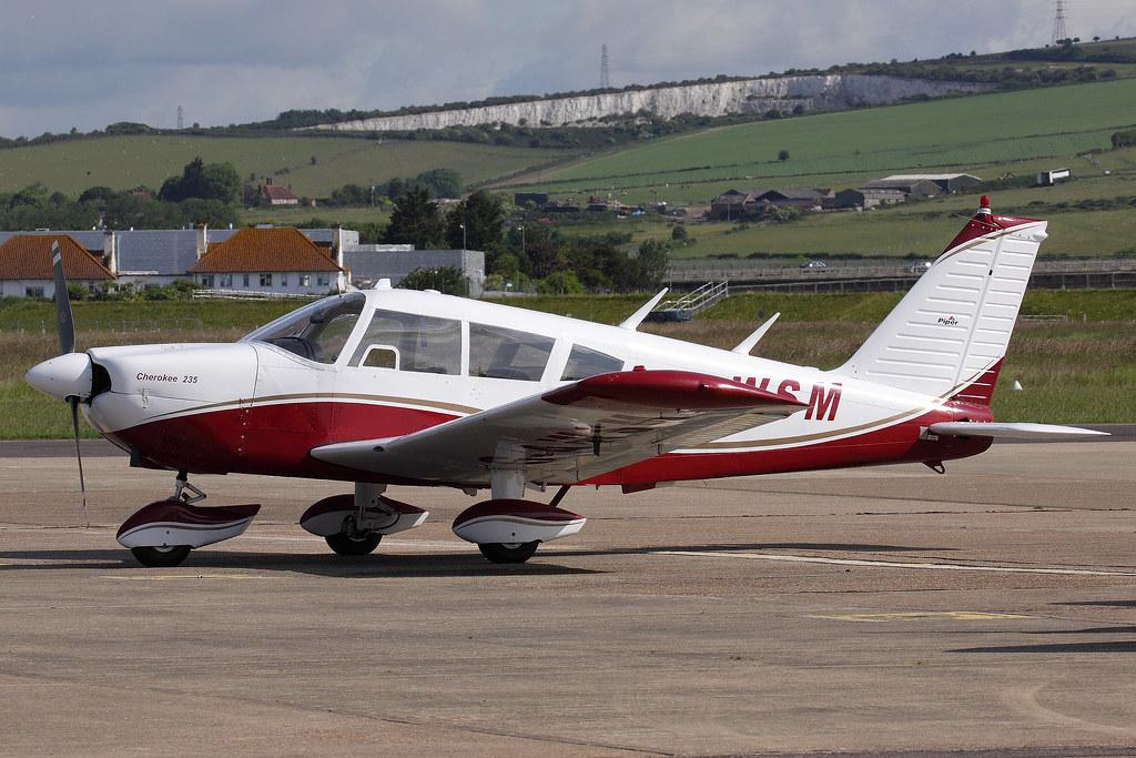 G-AWSM Piper PA28-235 Cherokee Pathfinder  Shoreham (ESH