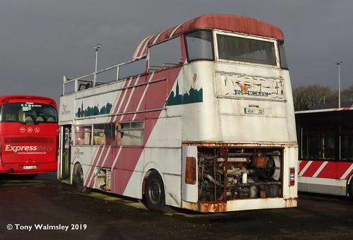 Bus Eireann DF454 Limerick