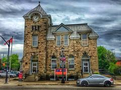 Elora Ontario  -  Canada - Post Office  - 128 Geddes Street - Heritage