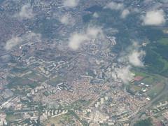 Paris after CDG take-off - Photo of Saint-Denis