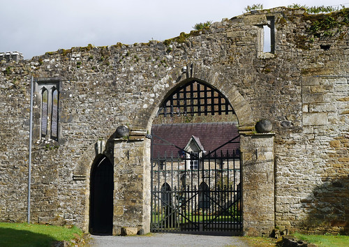 Kinnitty Castle abbey