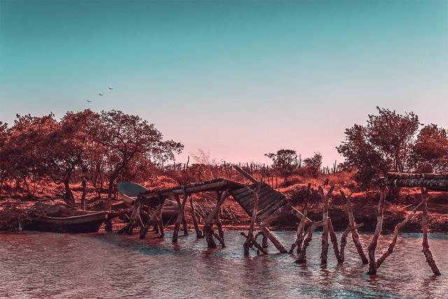 Puente en Juchitan