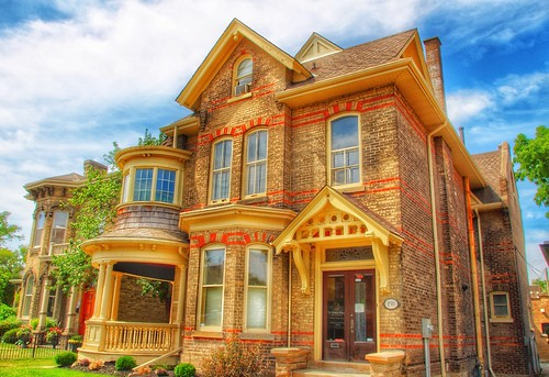 Brantford Ontario - Canada - Brantford  Ontario - Canada - Heritage Conservation District  -  Architecture  -  150 Bant St