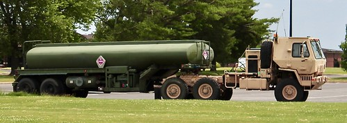 M1088A1P2 tractor and M970 Fuel Trailer