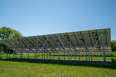 Solar Panels at William O'Brien State Park, Minnesota