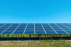 Photovoltaics - Solar Energy Panels in the Sun