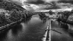 View from the Pont Valentre in Cahors - Photo of Cahors