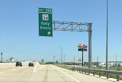 Texas 34 Exit