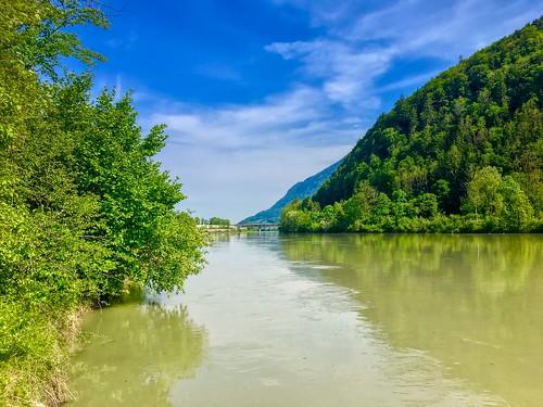 River Inn near Reisach, Bavaria, Germany