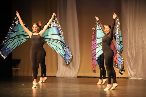 Ann Arbor Dance Classics 2019 Recital (Milan High School, Michigan) - Wednesday Rehearsal Pictures