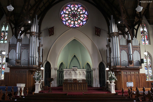 Le chœur de la Première Eglise d'Otago