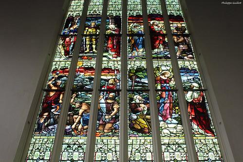 Vitrail de la Première Eglise d'Otago