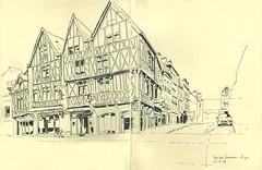Rue des Godrans - Dijon