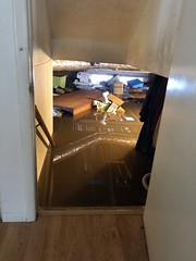 Basement Flooded in Uncle's Home