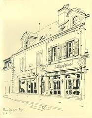 Place Grangier - Dijon - Photo of Dijon
