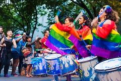 Drummers at Pride