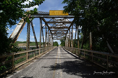 This week's random image is from my 2017 West Texas road trip and its a picture of the old State Hwy 23 Bridge at the Clear Fork of the Brazos River – Shackelford County, Texas.