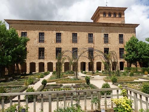 Ágreda, Jardín Renacentista Palacio Los Castejones.