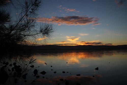 Sunset over Lake Illawarra