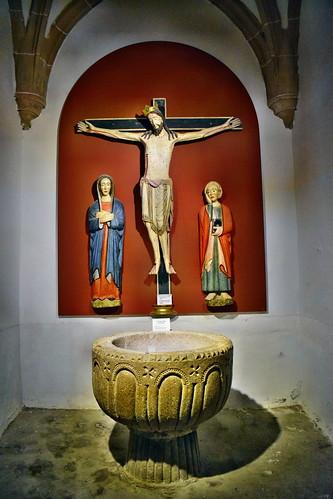 Calvario de la iglesia de la Santísima Trinidad (Atienza)