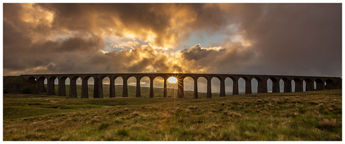 Sunrise at Ribblehead Viaduct