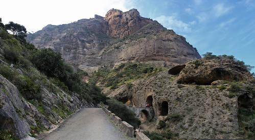 The prehistoric Necrópolis de las Aguilillas recently discovered