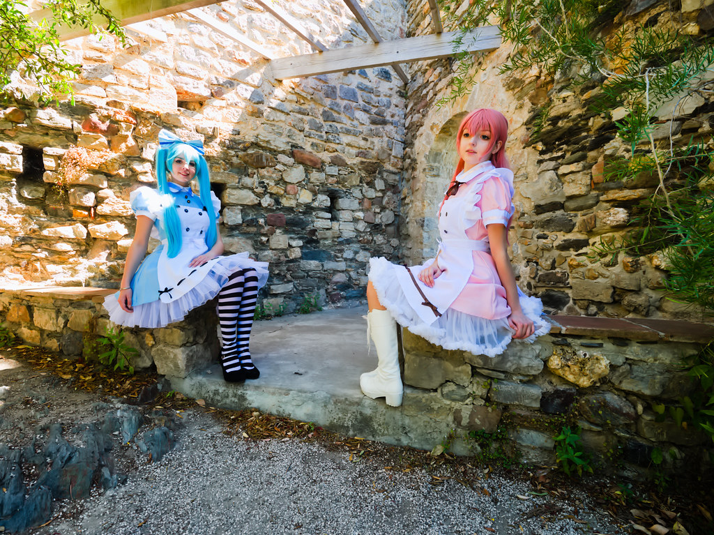 related image - Shooting Vocaloid Alice in Wonderland- Parc Saint Bernard - Hyères -2019-05-30- P1677448
