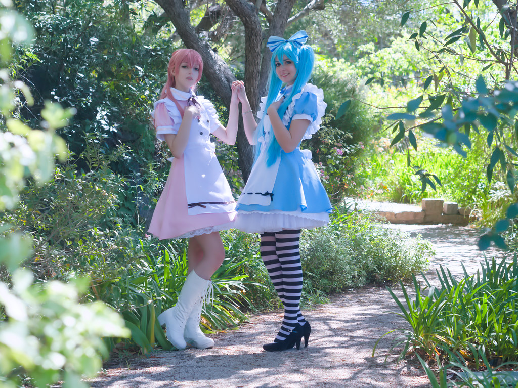 related image - Shooting Vocaloid Alice in Wonderland- Parc Saint Bernard - Hyères -2019-05-30- P1677441