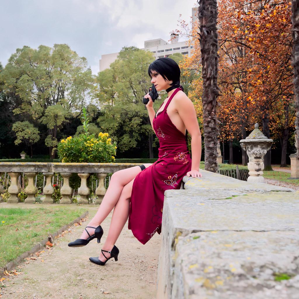 related image - Shooting Resident Evil - Ada Wong - Jardin de la Magalone - Marseille -2018-11-11- P1411196