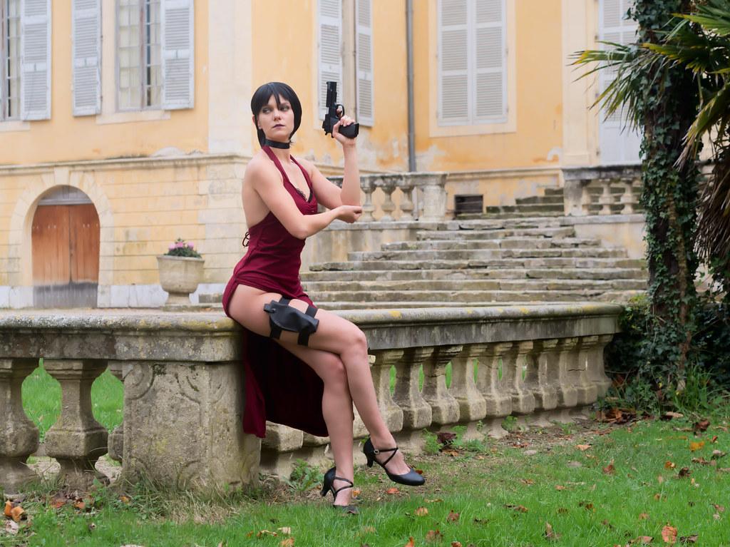 related image - Shooting Resident Evil - Ada Wong - Jardin de la Magalone - Marseille -2018-11-11- P1411204