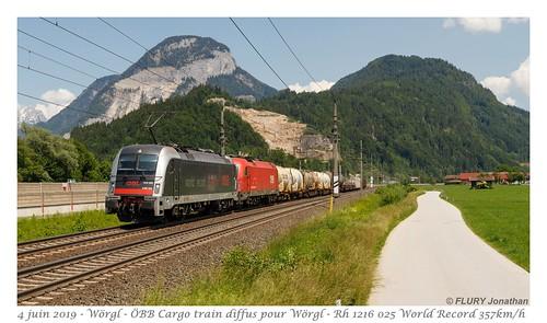 Rh 1216 025 ÖBB World Record - Wörgl