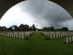 Fromelles (Pheasant Wood) Military Cemetery - Photo of Wavrin
