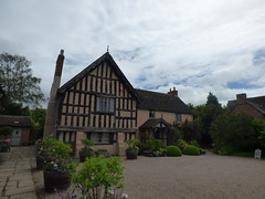 Buildings at Wollerton Old Hall Garden