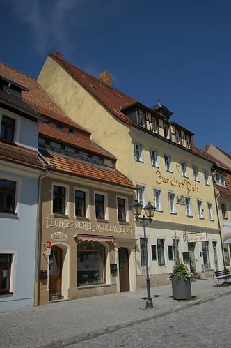 Marktplatz, Stolpen