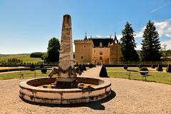 La fontaine des jardins de Cornod