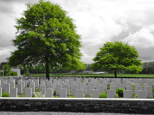 Dickebusch New Military Cemetery