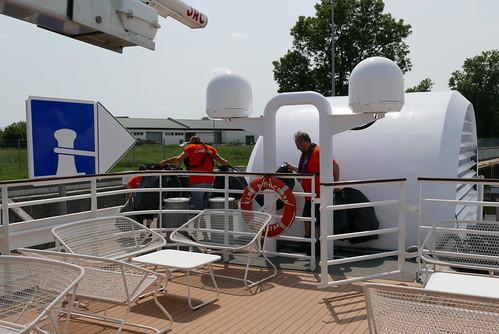 Sailing from Magdeburg to Brandenburg