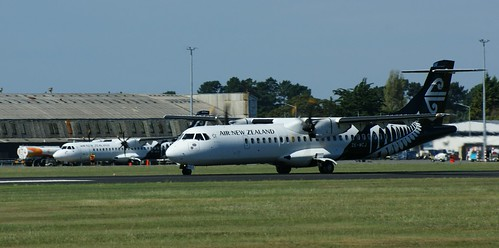 ZK-MCJ Air New Zealand ATR 72-500