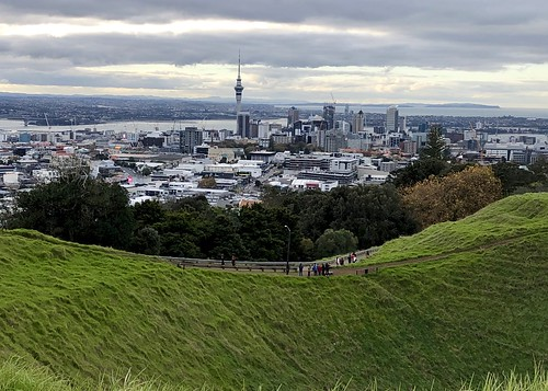 Crater at Mt Eden