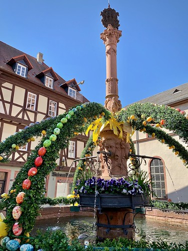 Celebration of spring, Miltenberg