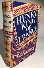 Mann: Henry King of France. $12.50