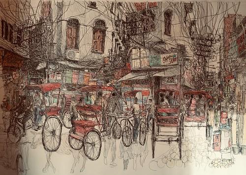 Peter Rush - drawings
