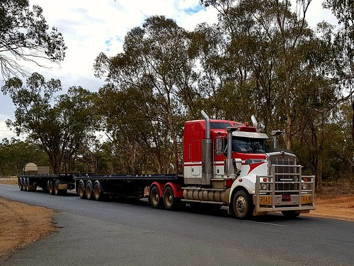 Kenworth at Albert NSW. ABI 008