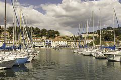 Port de Saint Mandrier    Var